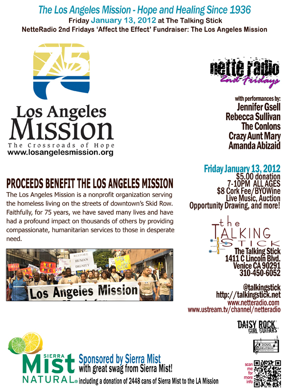 NetteRadio - Affect The Effect for The Los Angeles Mission 011312