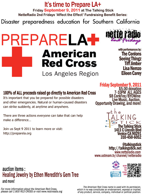 NetteRadio Affect the Effect - American Red Cross, PrepareLA+ 09/09/11