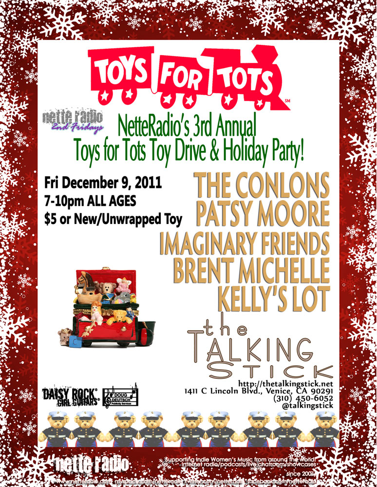NetteRadio Affect The Effect Toys for Tots Toy Drive 120911